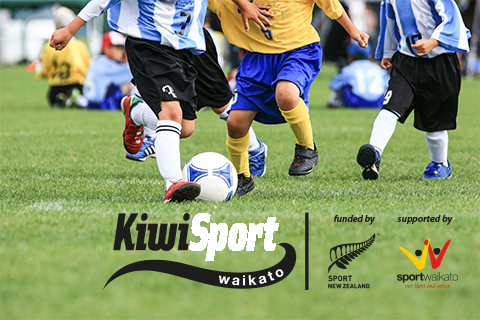 KiwiSport funding available to help get more youth involved in sport!