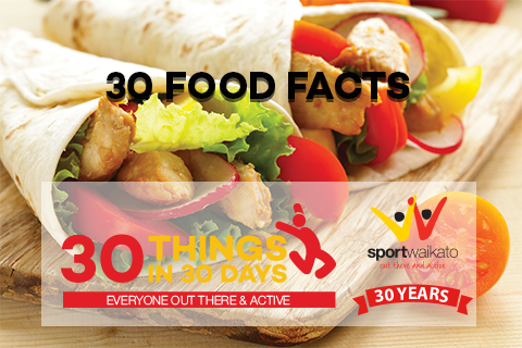 30 Food Facts