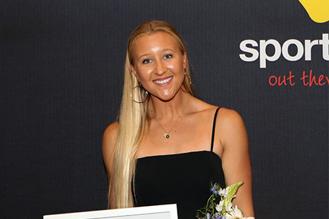 Ella Williams wins Sportsperson of the Year at Hauraki/Thames-Coromandel District Sports Awards