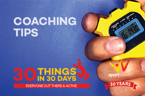 30 Coaching Tips and Ideas