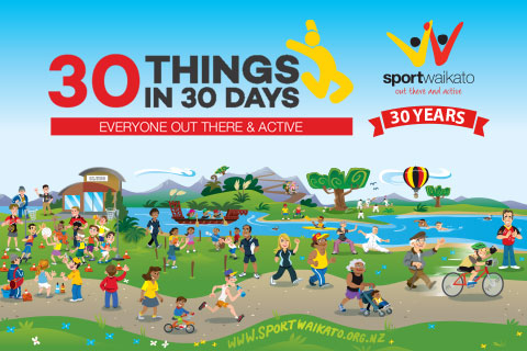 Sport Waikato Celebrates 30 years of serving the Waikato