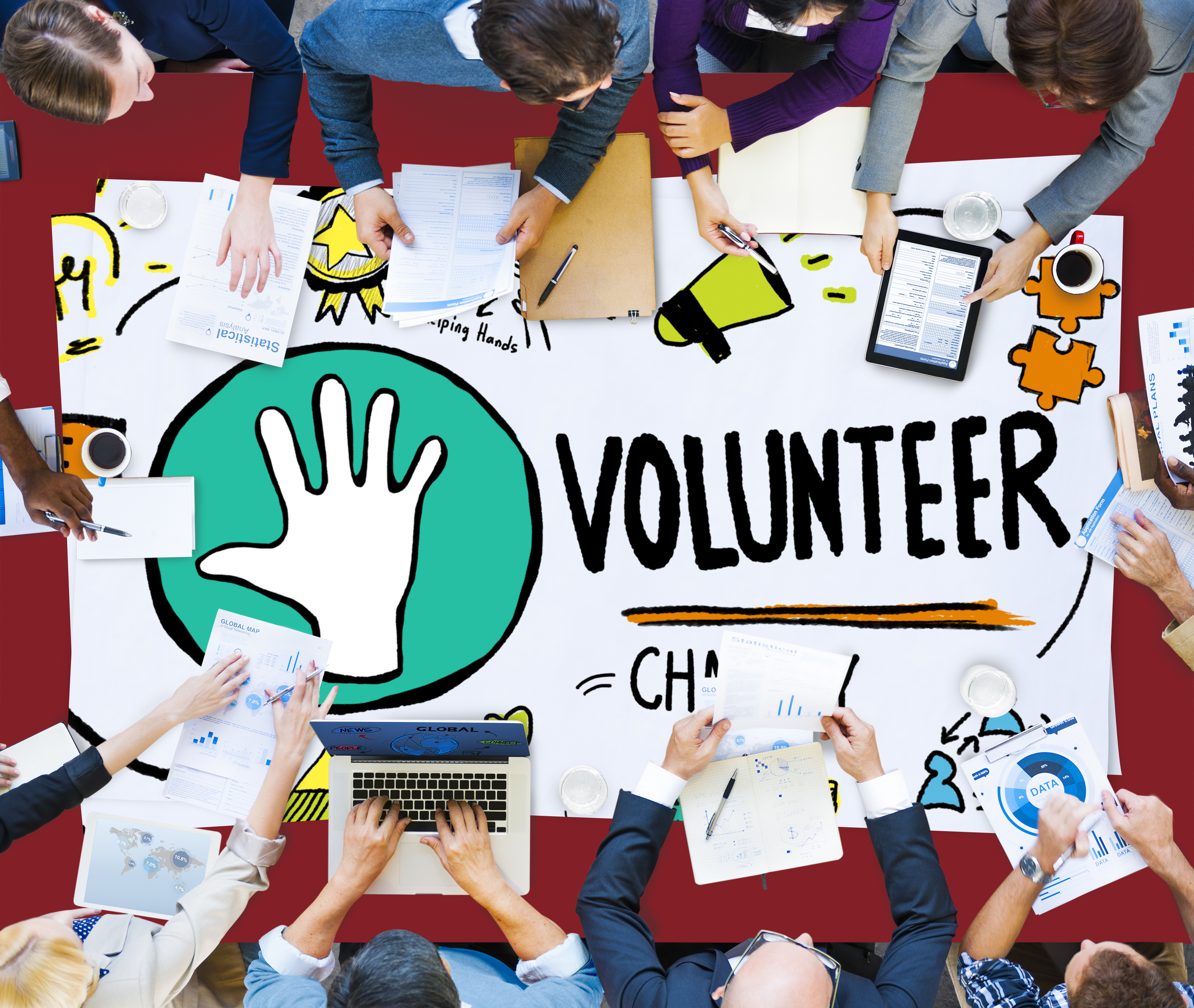 Making it easy for people to volunteer: planning is key