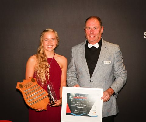 Nicole van der Kaay named as Premier Sportsperson of the Year at Taupo District Sports Awards