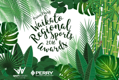 Brian Perry Waikato Regional Sports Awards 2016