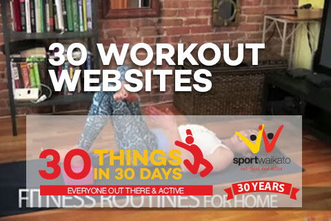 30 Exercise workout websites for at home exercise