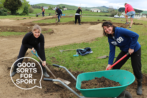 Sport Waikato lends a helping hand to the community