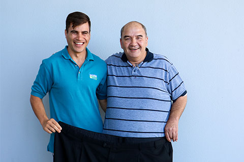 Green Prescription helps Ricky lose more than 40kg