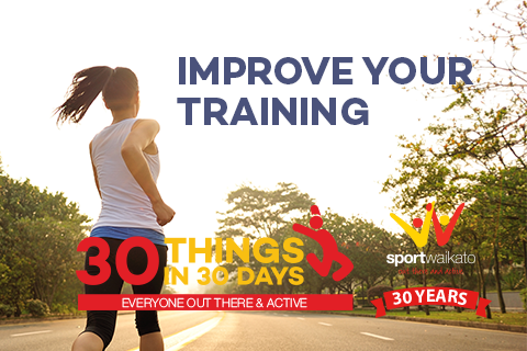 30 Ways to improve your training