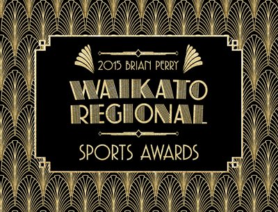 Brian Perry Waikato Regional Sports Awards Winners Announced 2015