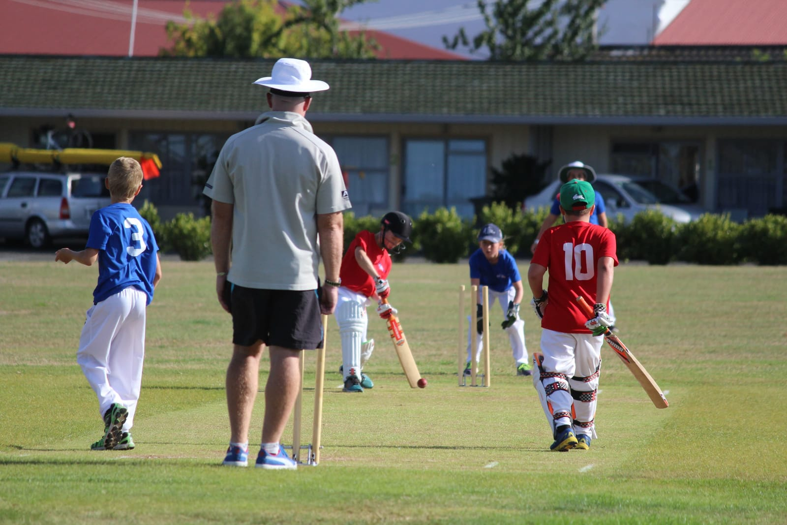 Taupo Cricket Club embraces the fun for all message