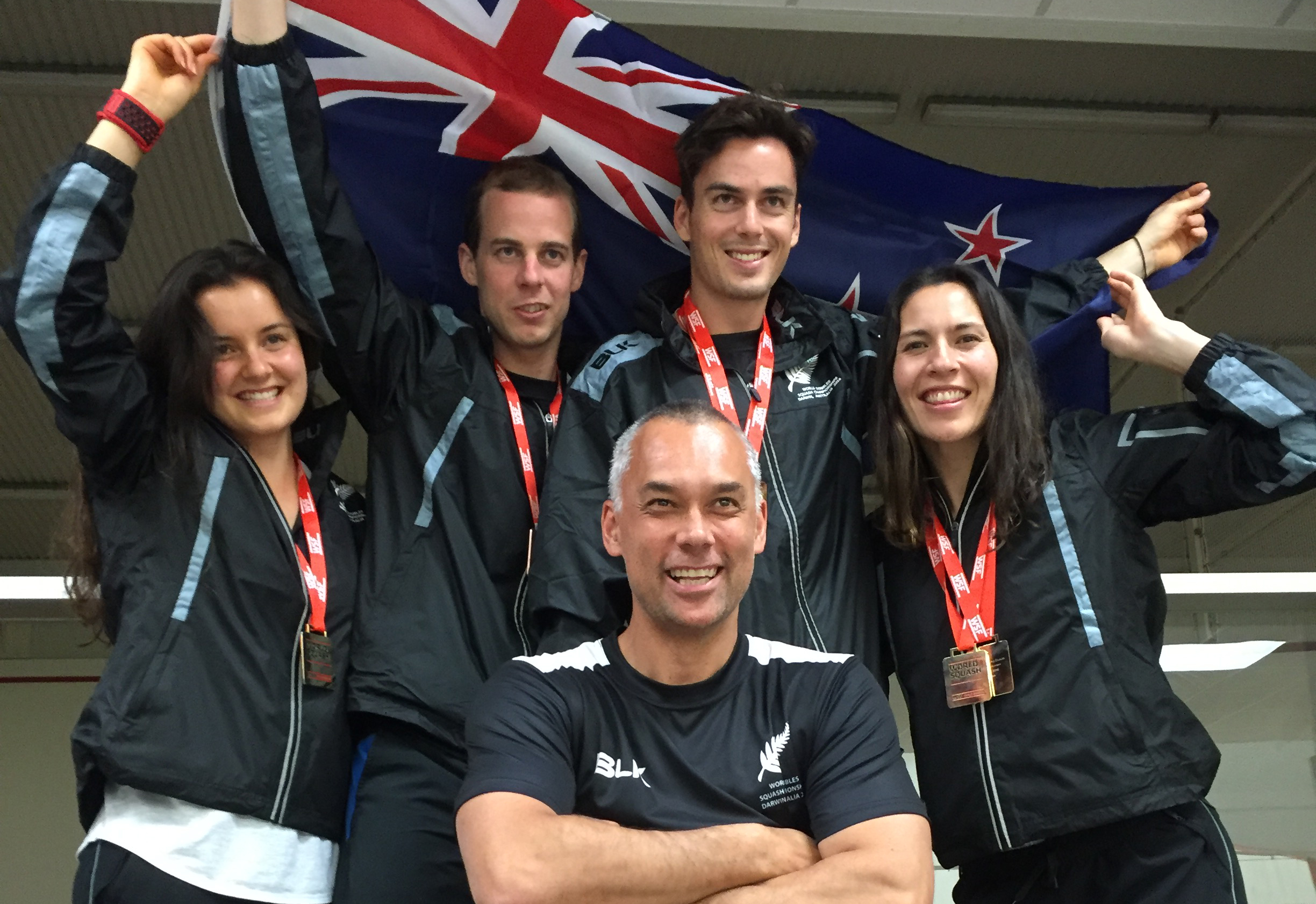 Kiwi Squash Players Strike Gold in Australia
