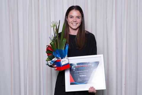 Tarryn Davey nets Sportswoman of the Year at Ingham Matamata-Piako District Sports Awards